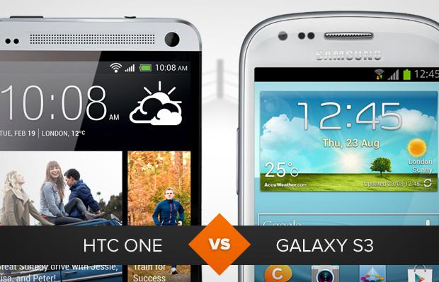 HTC One versus Galaxy S3: qual é o melhor? (Foto: Arte / TechTudo)