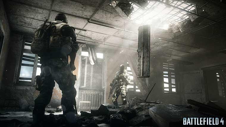 A iluminação de Battlefield 4 está impressionante (Foto: Divulgação)
