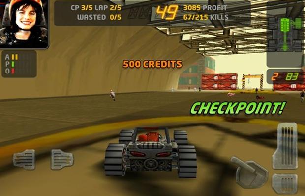 Clássico e violento, Carmageddon está de volta agora também para Android (Foto: Next-Game)