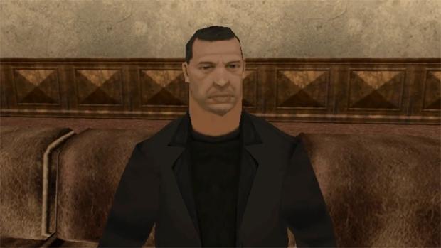 Michael de GTA 5 relaxa em sua versão GTA: San Andreas (Foto: Reprodução)