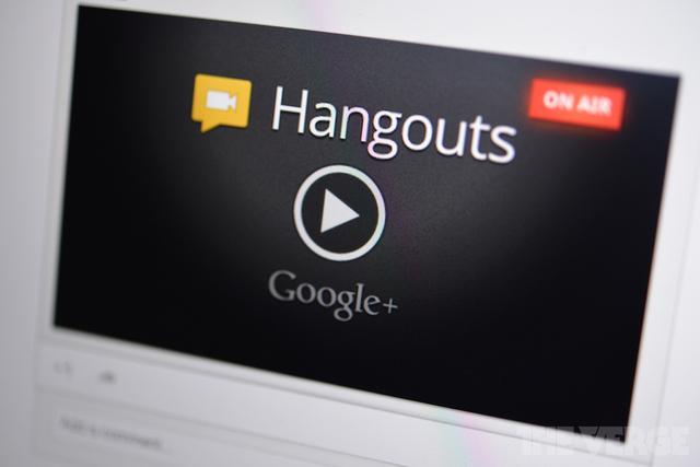 Hangouts do Google+ ganham melhorias e novas ferramentas. (Foto: Reprodução / The Verge)