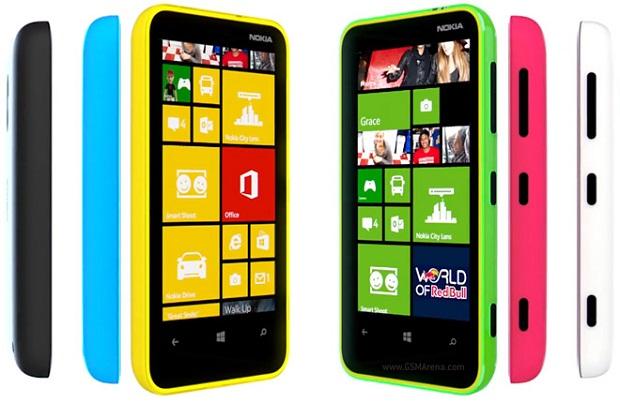 Lumia 620 é considerado um smartphone intermediário, mas não se saiu bem em testes de desempenho (Foto: Divulgação) (Foto: Lumia 620 é considerado um smartphone intermediário, mas não se saiu bem em testes de desempenho (Foto: Divulgação))