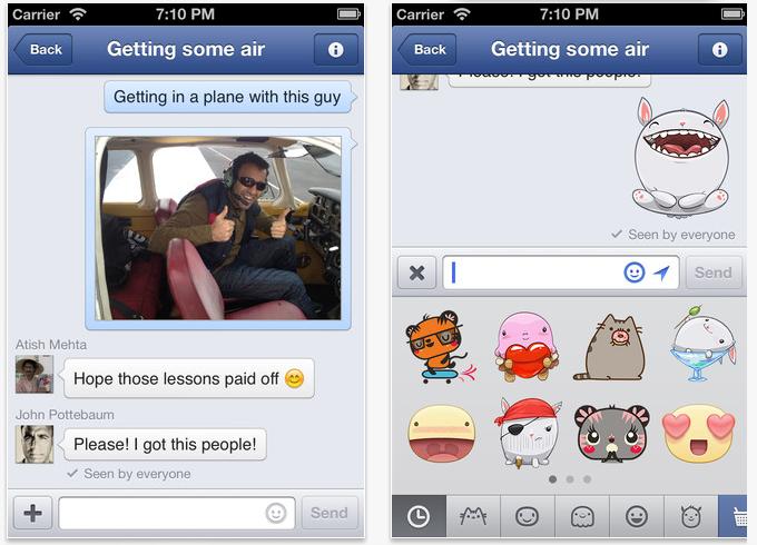 Messenger do Facebook ganhou update (Foto: Reprodução/TNW)