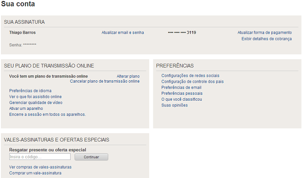 Selecione a configuração de controle dos pais no menu (Foto: Reprodução/Thiago Barros)