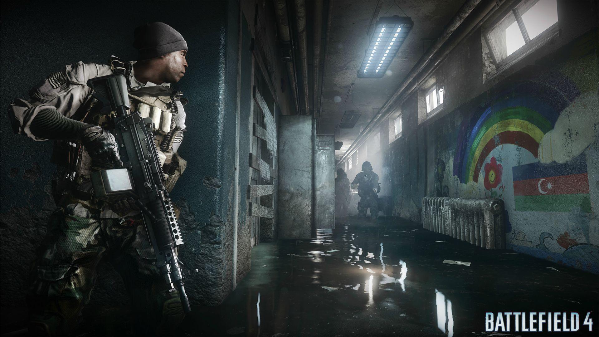 Que tal um tiroteio dentro de uma escola abandonada de Battlefield 4? (Foto: Divulgação)