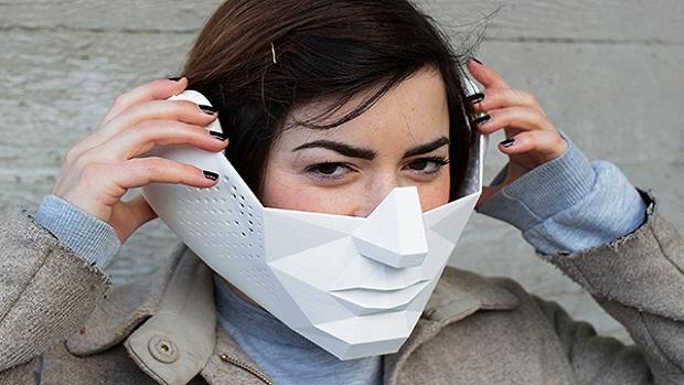 Projeto Eidos, máscara que dá poderes sobre-humanos (Foto: Projeto Eidos, máscara que dá poderes sobre-humanos)