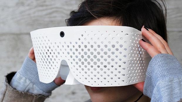 Projeto Eidos, máscara que dá supervisão (Foto: Projeto Eidos, máscara que dá supervisão)