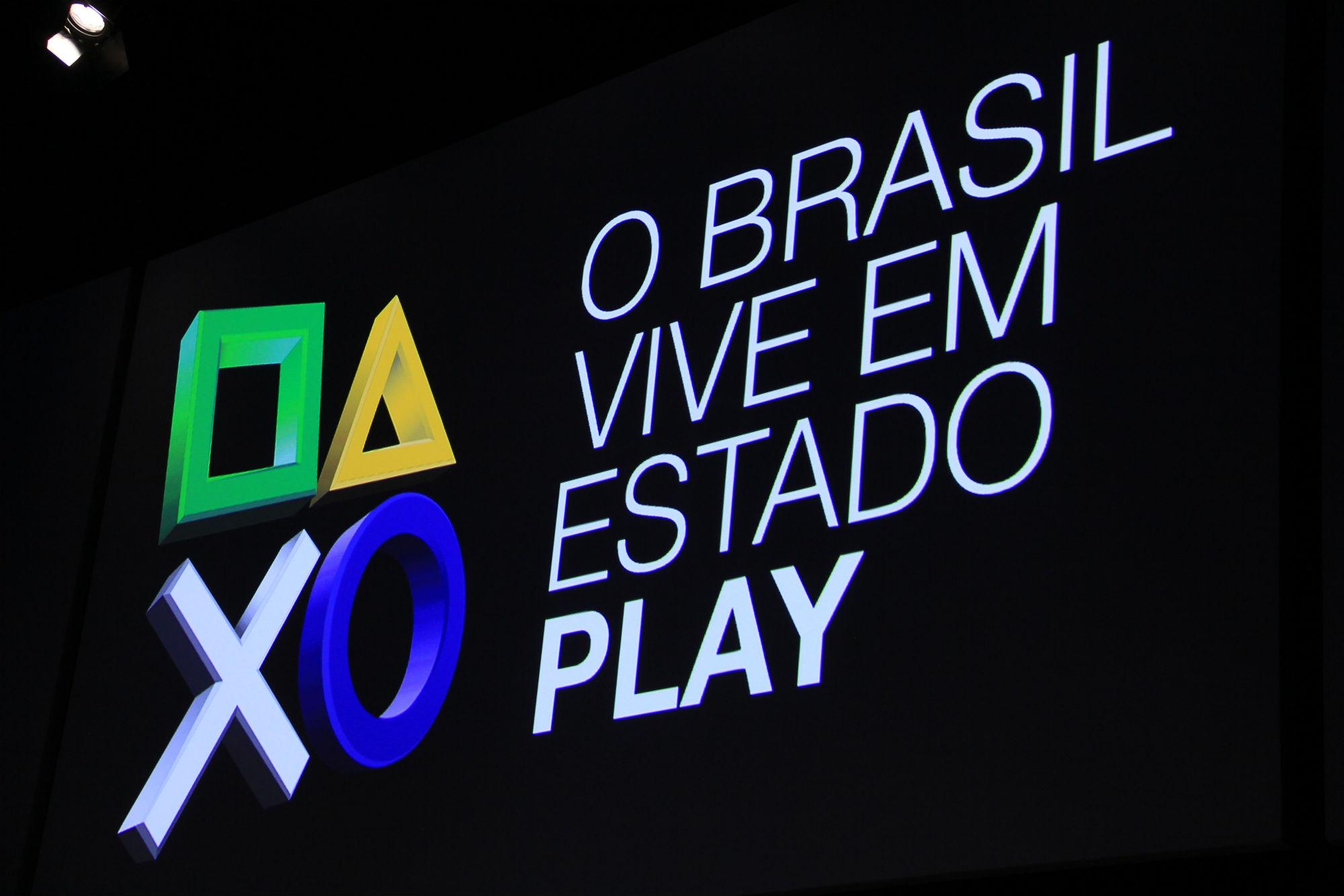 Anúncio feito pela Sony Brasil no evento (Foto: TechTudo / Renato Bazan)
