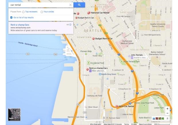 Interface reformulada do Google Maps será disponibilizada em breve (Foto: Reprodução / Google Operating System)