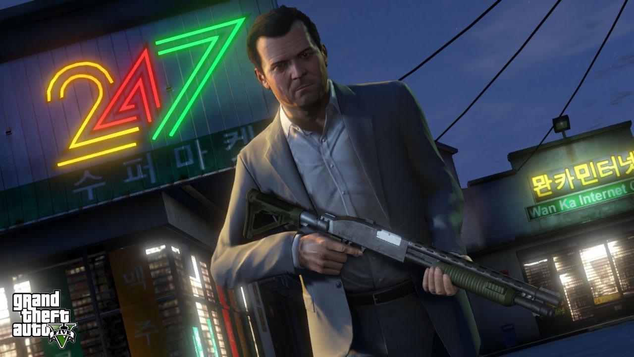 Grand Theft Auto 5 chega em setembro ao Brasil com legendas em português (Foto: Divulgação)