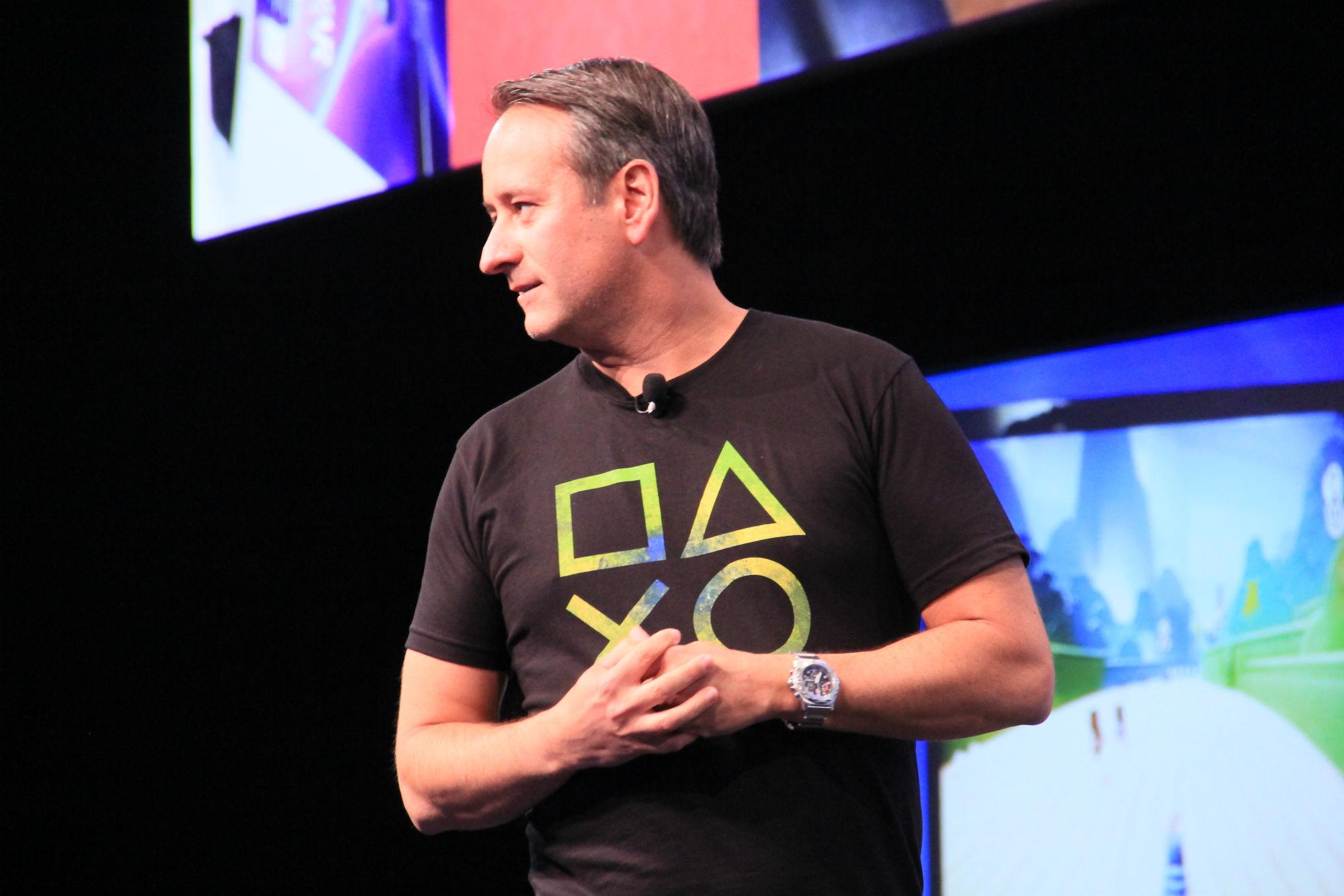 Mark Stanley, o gerente da SCEA para América Latina (Foto: TechTudo / Renato Bazan)