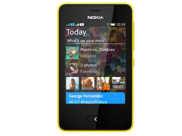 Nokia lanlou também a Nova Plataforma Asha, sistema operacional do aparelho (Foto: Divulgação)