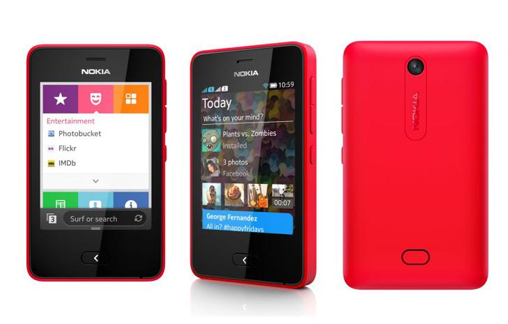 Asha 501 tem cores vibrantes inspiradas no Lumia (Foto: Arte/Divulgação)