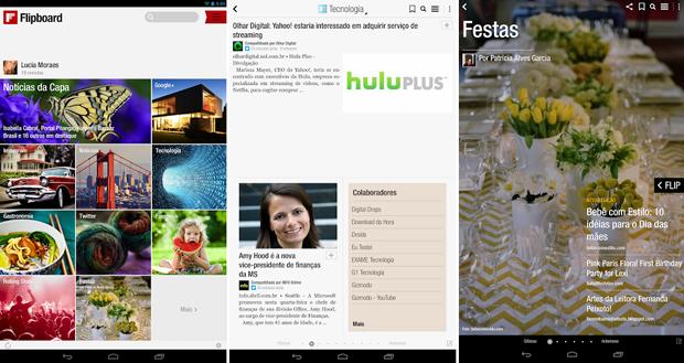 Flipboard está de cara nova no Android (Foto: Divulgação)