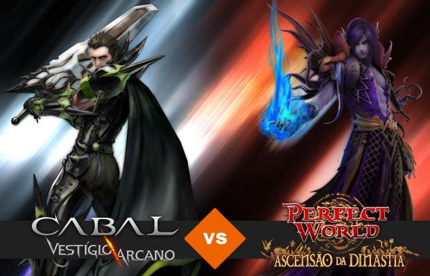 Perfect World vs Cabal Online (Foto: Reprodução/Silas Tailer) (Foto: Perfect World vs Cabal Online (Foto: Reprodução/Silas Tailer))