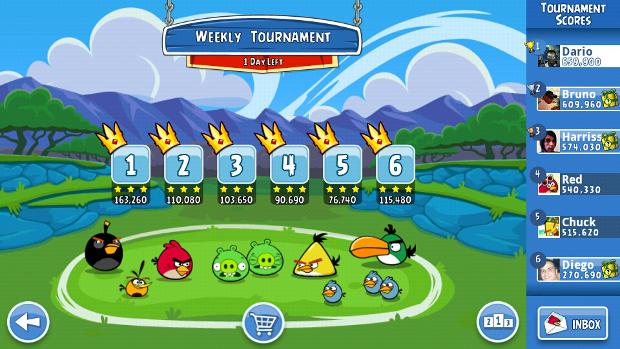 Angry Birds Friends (Foto: Reprodução / Dario Coutinho)