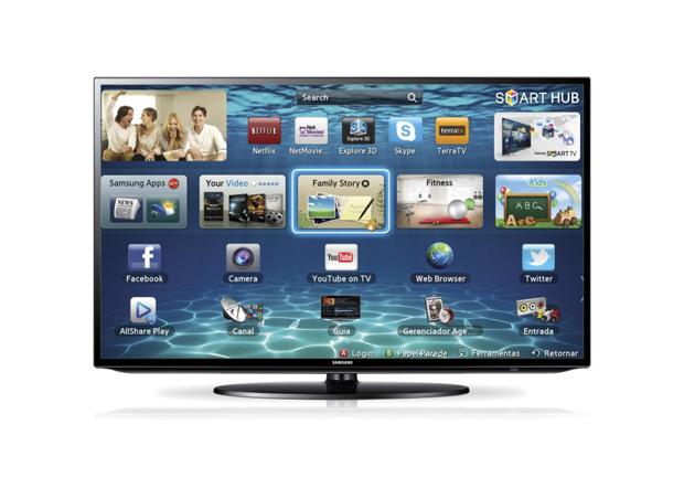 Televisor Full HD da Samsung é um presentão (Foto: Divulgação)