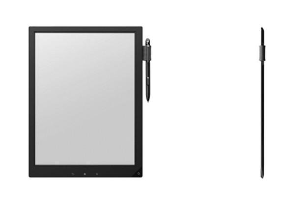 Sony anuncia seu projeto de bloco de notas digital para substituir cadernos escolares. (Foto: Reprodução / Engadget)