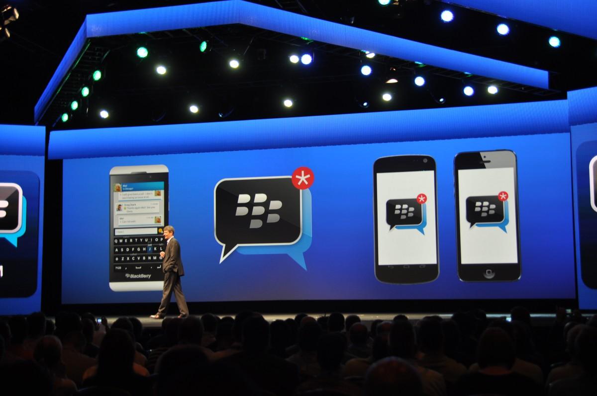 BBM do BlackBerry vai ser disponibilizado para iOS e Android (Foto: Reprodução/NewsWhip)