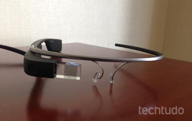 Google Glass: já temos o nosso em mãos! (Foto: Marcello Azambuja / TechTudo)