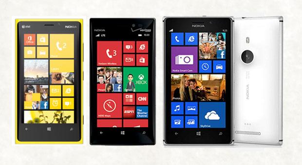 Lumia: linha da Nokia tem dois novos tops que se unem ao 920 (Foto: Reprodução/Engadget)