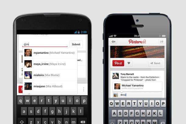 Pinterest ganhou novas funcionalidades em update (Foto: Divulgação)