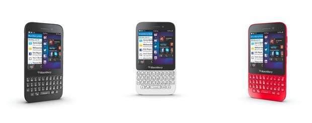 """O BlackBerry Q5 conta com tela touch screen  de 3,1"""" e teclado QWERTY (Foto: Reprodução)"""