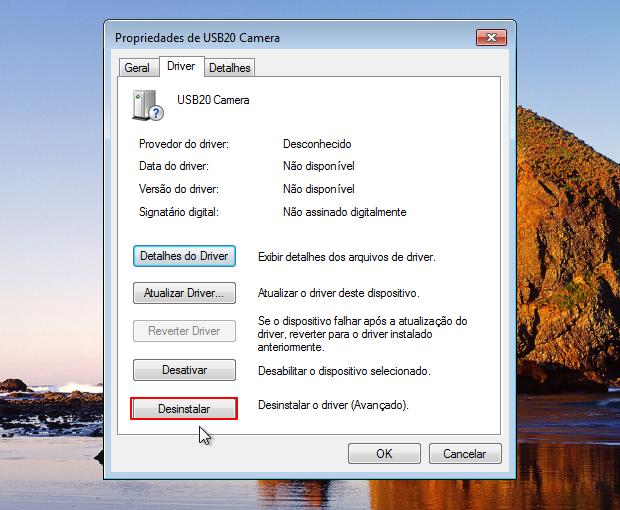 Remova do Windows o driver com problemas (Foto: Reprodução/Thiago Bittencourt)