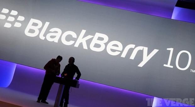 BlackBerry anunciou novos planos em evento (Foto: Reprodução/The Verge)