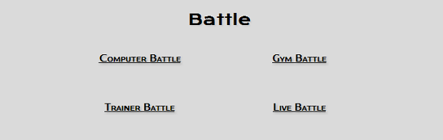 Selecione a opção de batalha contra o computador (Foto: Reprodução/Thiago Barros)