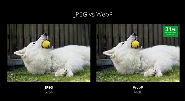 Fotos em WebP são 31% menores (Foto: Reprodução/ YouTube)
