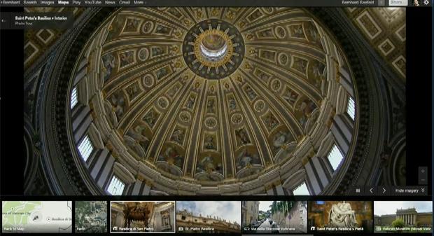 É possível ver alguns lugares por dentro (Foto: Reprodução/ YouTube)