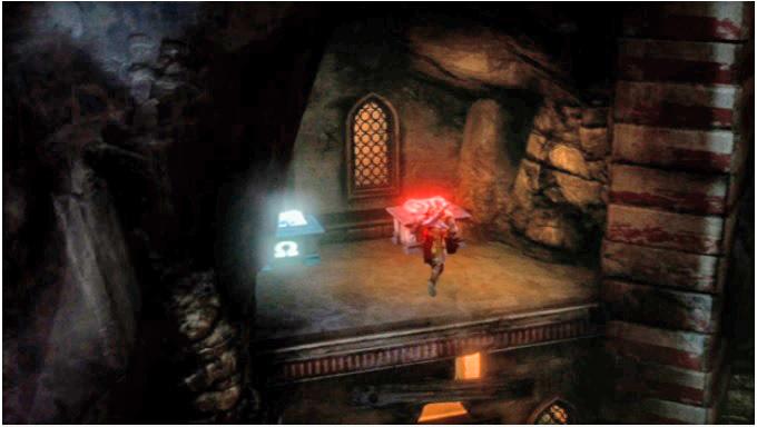 O terceiro olho de Górgona é encontrado após o combate com o Sátiro (Foto: Reprodução)