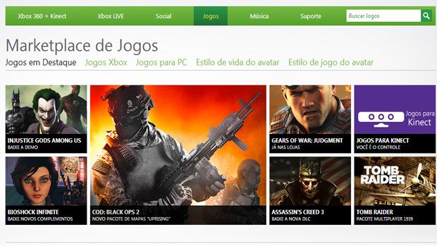 Os interessados podem comprar jogos utilizando Microsoft Points. (Foto: Reprodução) (Foto: Os interessados podem comprar jogos utilizando Microsoft Points. (Foto: Reprodução))