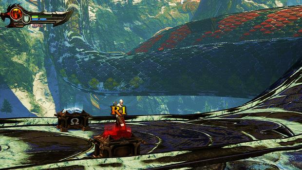Olho de Górgona - God of War: Ascension (Foto: Reprodução)