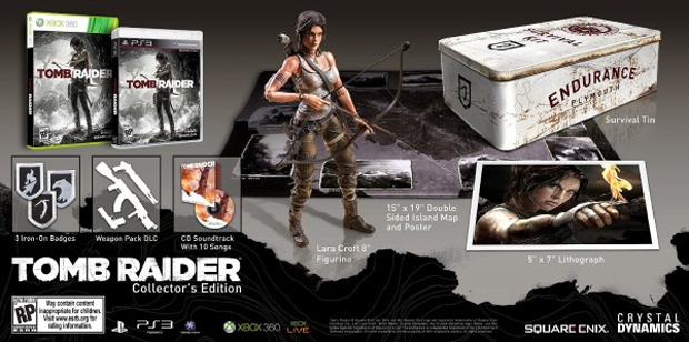Tomb Raider teria edição com bônus e action figure (Foto: Divulgação)
