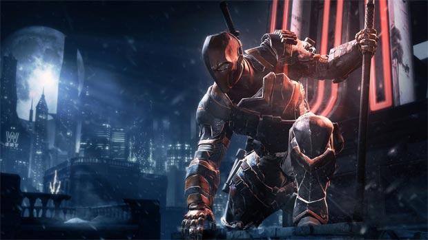 Batman: Arkham Origins mostra o vilão Exterminador contra o Homem-Morcego (Foto: Divulgação)