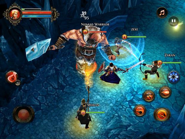 Dungeon Hunter 2 tem versões para Android e iOS (Foto: Divulgação)