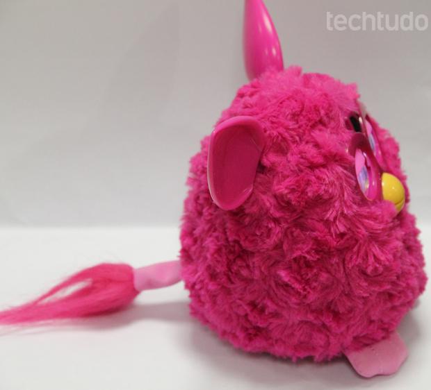 Furby (Foto: TechTudo/Milena Pereira)