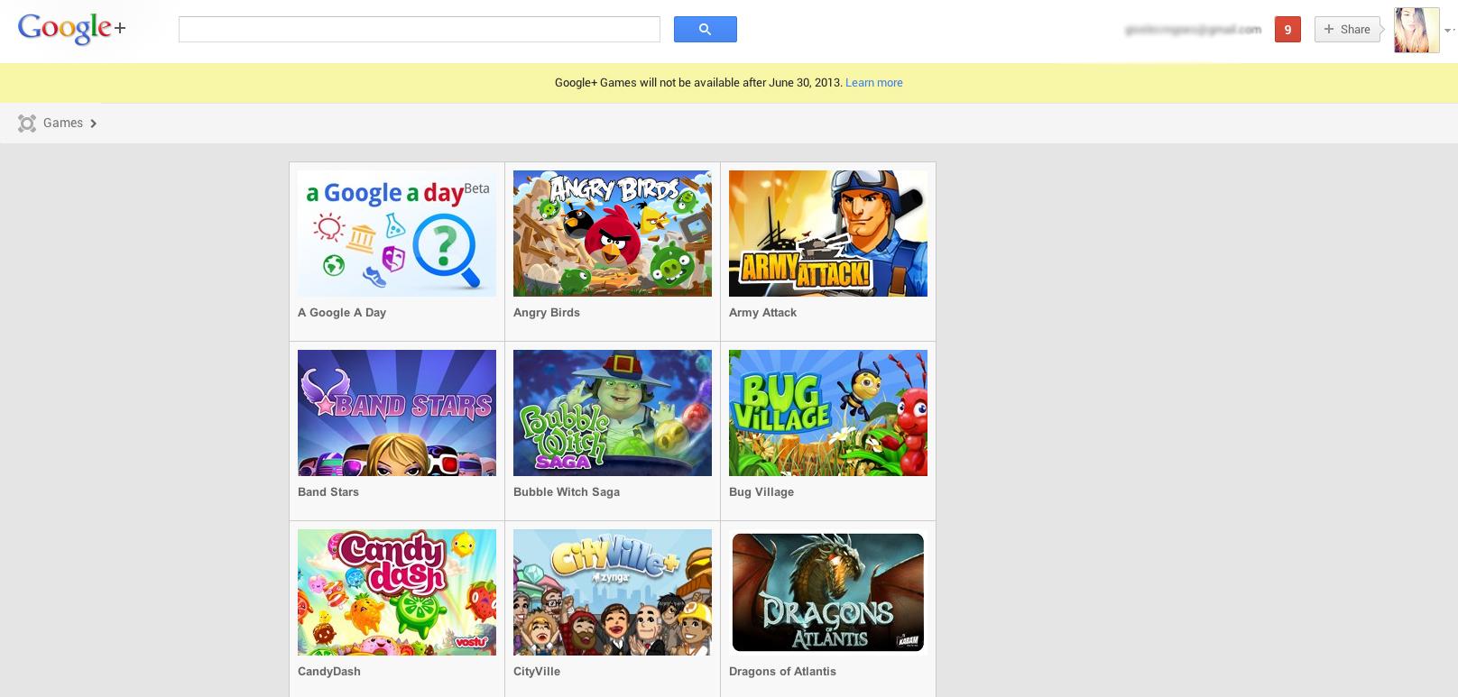 Google anuncia o fim dos games no Google+. (Foto: Gisele Góes)