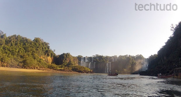 Fotografia tirada com GoPro HD Hero 2 (Foto: Thiago Barros/TechTudo)