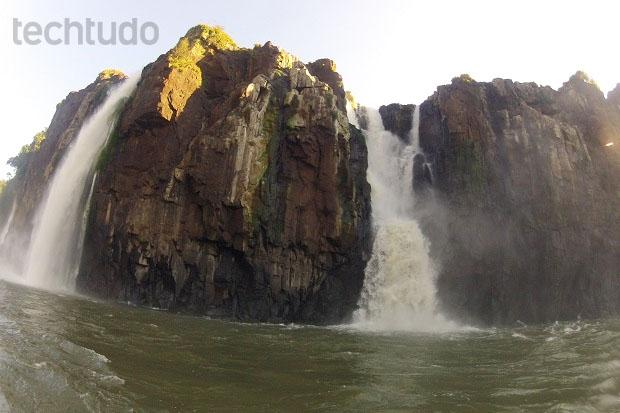 Exemplo de fotografia feita com a Hero 2 nas Cataratas do Iguaçu (Foto: Thiago Barros/TechTudo)