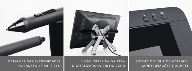Imagens da tela digitalizadora Wacom Cintiq 22HD (Foto: Reprodução/Wacom)
