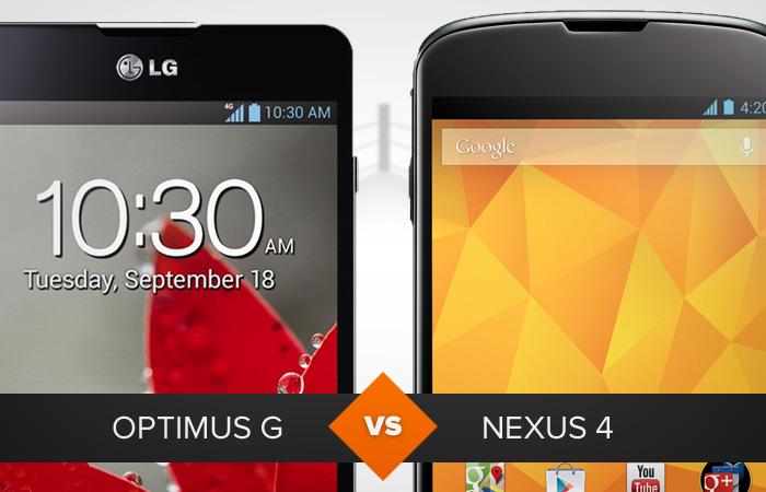 LG Optimus G ou LG Nexus 4? Saiba qual é a melhor opção para você (Foto: Arte / TechTudo)