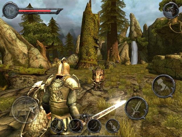 Ravensword Shadowlands traz um pouco de Skyrim para o seu tablet Android ou iPad (Foto: Divulgação)