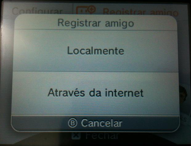 Veja como registrar seu amigo no Nintendo 3DS (Foto: Reprodução / TechTudo)