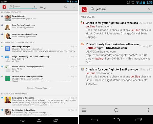 CloudMagic é um eficiente serviço de buscas no Android (Foto: Divulgação)