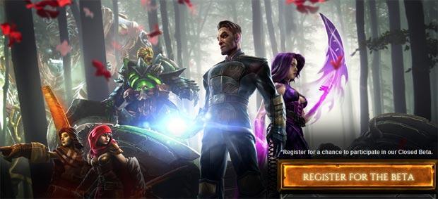 Dawngate chama os jogadores para sua fase de testes (Foto: Reprodução)
