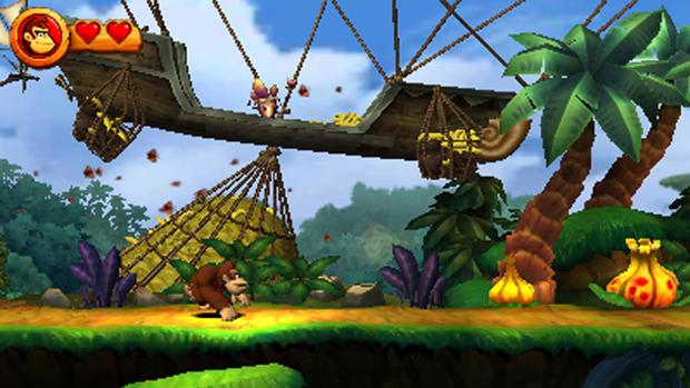 Donkey Kong Country Returns 3D (Foto: Divulgação)