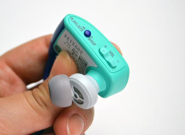Botões do MP3 Player precisam de atenção para serem decorados (Foto: Stella Dauer)